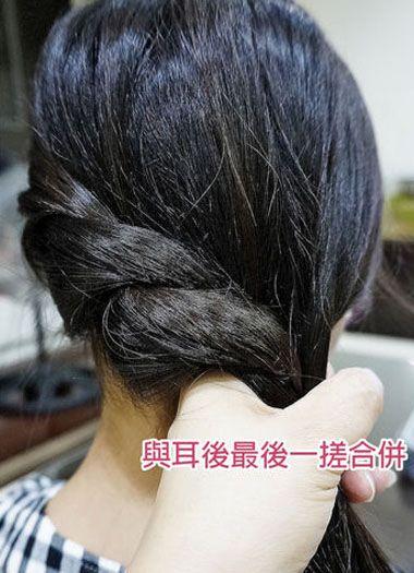 中小学生扎哪种发型好看 小学生简单发型扎法步骤(6)图片