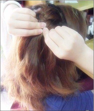 新娘发型编辫子 生活编发编发发型图解