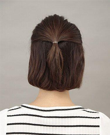 中学生扎什么发型好看 好看发型扎法学生头图片