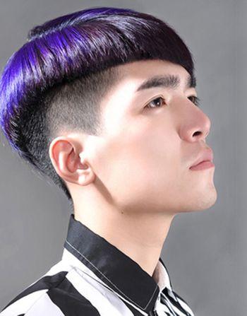 平刘海男生帅吗 男生平刘海发型图片