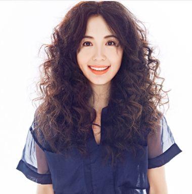 中长发烫小卷发型图片 长发烫小卷发型花型 发型师姐图片
