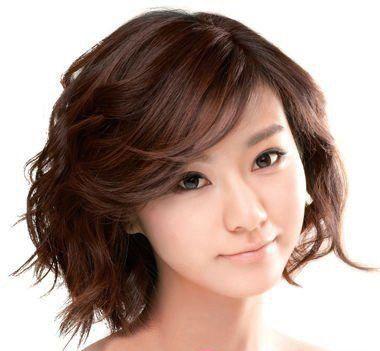 夏季短头发烫成什么样的好看?适合染成什么颜色的?