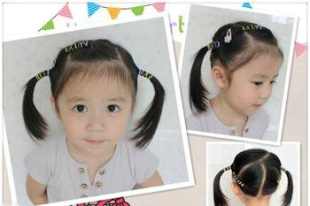 小女孩扎头发发型 小女孩简单扎小辫子发型(4)