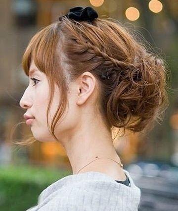 如何编制头发发型 各式各样的发型编法 发型师姐图片