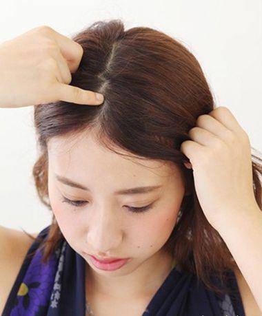 圆脸适合把头发全扎起来吗 圆脸扎什么样的头发(3)图片