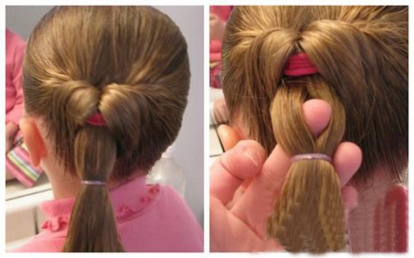 小孩怎么编头发简单好看