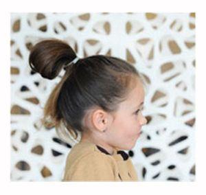 小孩子扎头发最美的发型 流行美小孩发型扎法图片