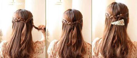 漂亮发型怎么编好看图片步骤
