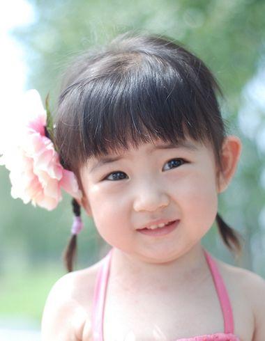 小女孩头发短怎么编好看 小女孩编头发大全图解
