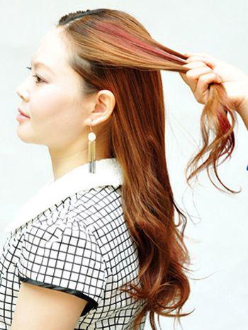 中年人盘头发型步骤 中年妇女盘发型教程