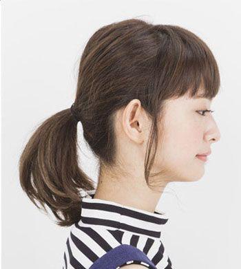 2016年圆脸最流行扎什么发型 适合圆脸女生的发型扎发图片