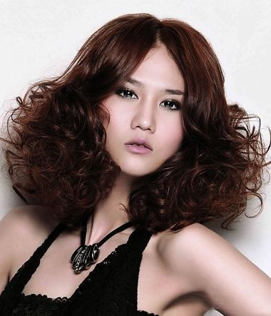 螺丝烫的发型图片 沙宣螺丝烫发型 发型师姐