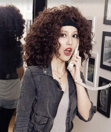 满头烫发短发型图片 短发小卷烫发发型 发型师姐