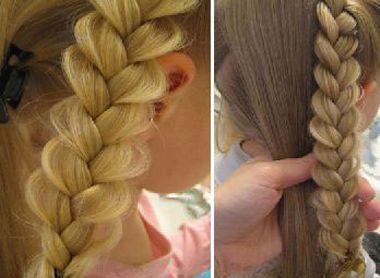 儿童小女孩编发发型图片 小女孩发型编法图解步骤