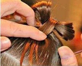 发型设计 儿童发型 >> 小孩短发发型扎法 短发发型3岁女孩扎辩图解  2图片