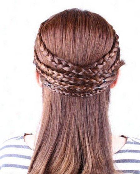 发型花样编法(4)图片