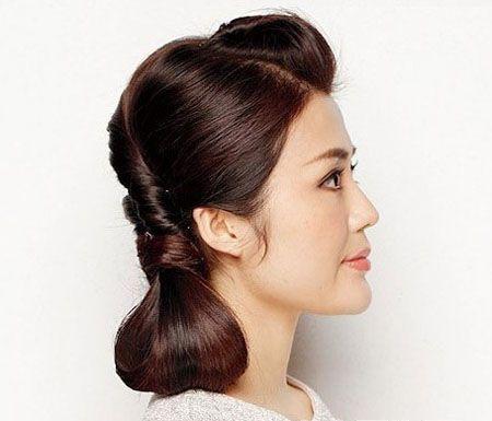 可爱的发型步骤