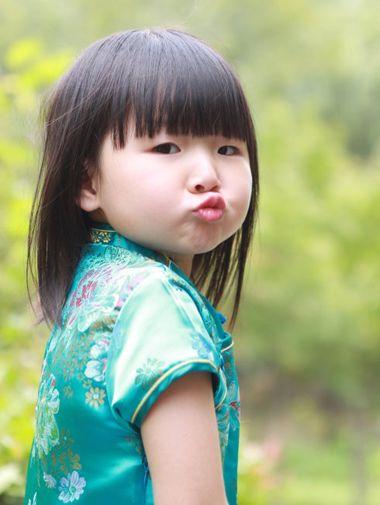 5岁宝宝要不要刘海 小孩刘海发型图片(2)图片
