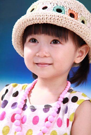 幼儿园儿童中短发发型扎法 小女孩儿童扎发发型图片