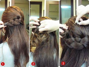 长发扎什么发型可爱 长发烫发发型简单扎法图片
