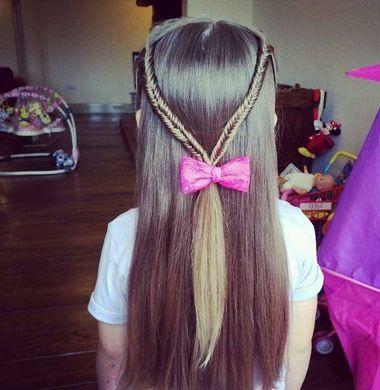 小孩子怎么样编头发好看 小孩编头发花样(3)图片