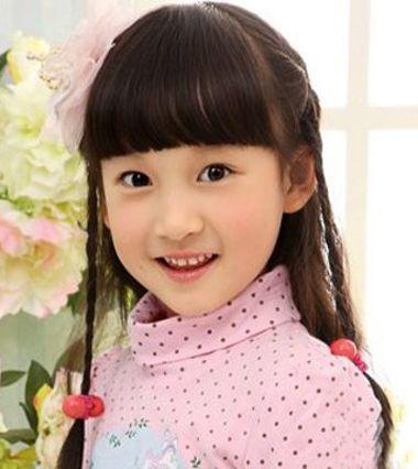 发型设计 儿童发型 >> 韩国小女孩的发型有那些?怎么编?图片