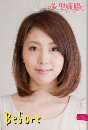 脸圆适合扎什么发型好看 圆脸适合发型扎法步骤(2)图片