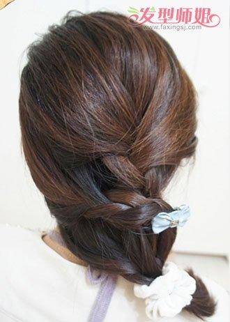 编辫子发型扎法图解 编发各种发型图片