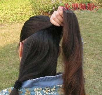 盘头发的,一根簪子盘头发的详细步骤