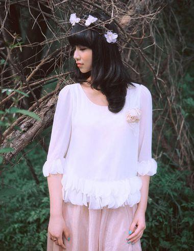 2016新款韩式齐刘海烫发图片 最新韩式齐刘海烫发发型