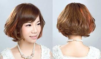 沙宣头可以烫成什么头型 好看的沙宣烫发图片(4)_发型图片