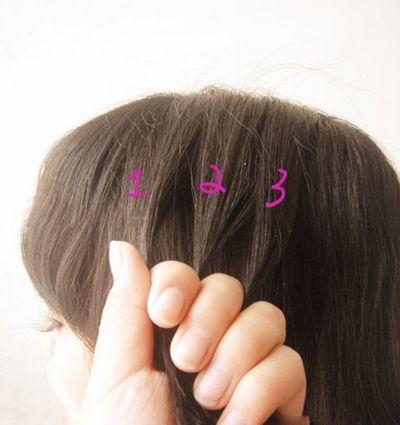 小学生扎头发发型 小学生清新头发扎法