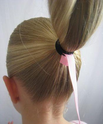 女孩怎么样编头发 孩子编头发的步骤及图片