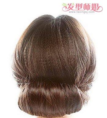 气质盘头发型步骤图片
