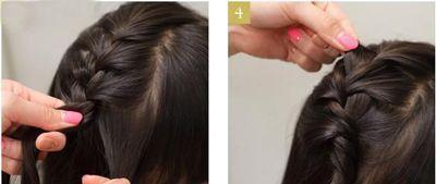 儿童半长头发适合扎什么发型 儿童漂亮公主发型扎法图片