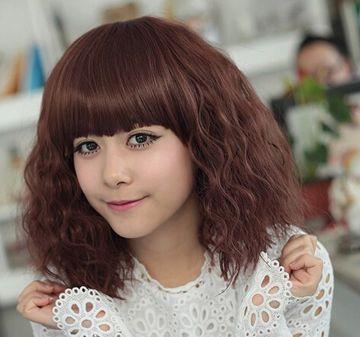 女士发型玉米须烫发型特点 短发玉米烫发发型图片
