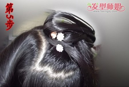 古代的头发怎么盘 古代盘头发的方法图解(4)