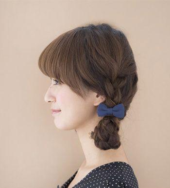 小学生直发店长简单好看扎法步骤适合小学生的扎发图解(3)小学新发型图片