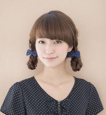 小学生直发发型简单好看扎法步骤 适合小学生的扎发图解(4)图片