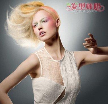 沙宣偏分中长发空气烫发发型-长沙宣烫什么样的头发图片 中长沙宣头图片