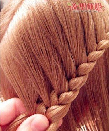 发型 编发图解,一款看似简单