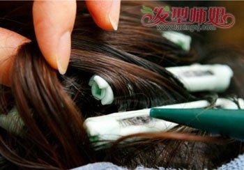短发纹理烫排杠技巧 短发蓬松烫发的种类纹理(6)图片