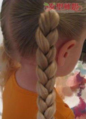 发型步骤 学扎头发小孩简单发型(2)  2017-02-04来源:发型师姐编辑