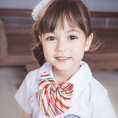 小孩子的扎小辫发型 小孩扎发发型步骤(3)
