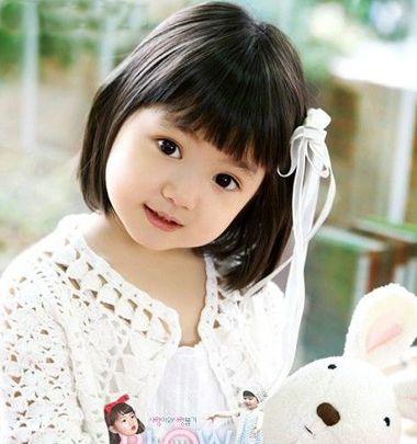 儿童短发扎发发型做法大全 儿童中短发发型扎法(4)图片