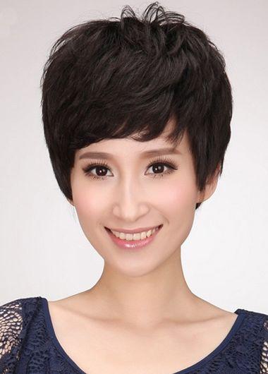 中年妇女短发烫发型_中年短发老式烫发 烫发短发中年妇女型发图片_发型师姐