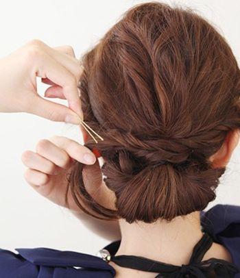 发型diy 长发扎发 >> 最新韩国大脸女生适合的长发