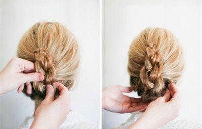 织头发步骤及图片