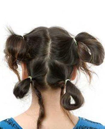 儿童长发发型扎法及步骤 儿童女生好看的发型扎法图片