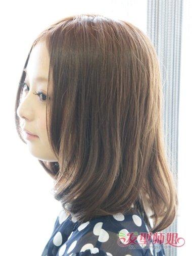 中分短发梨花烫适合什么脸型 什么样的脸型适合梨花烫 发型师姐图片